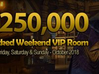 $250,000 Wicked Weekend VIP Room at Amigo Bingo