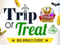Trip or Treat to win a fabulous Big Bingo prize
