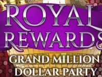 Cash is King on November 14th in the Royal Rewards Grand Million Dollar Party!