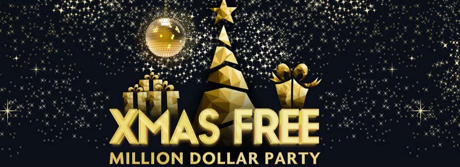 Get ready for festive fun in bingo Xmas Free Million Dollar Party!