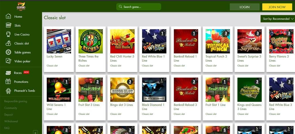 7 Reels Slots online