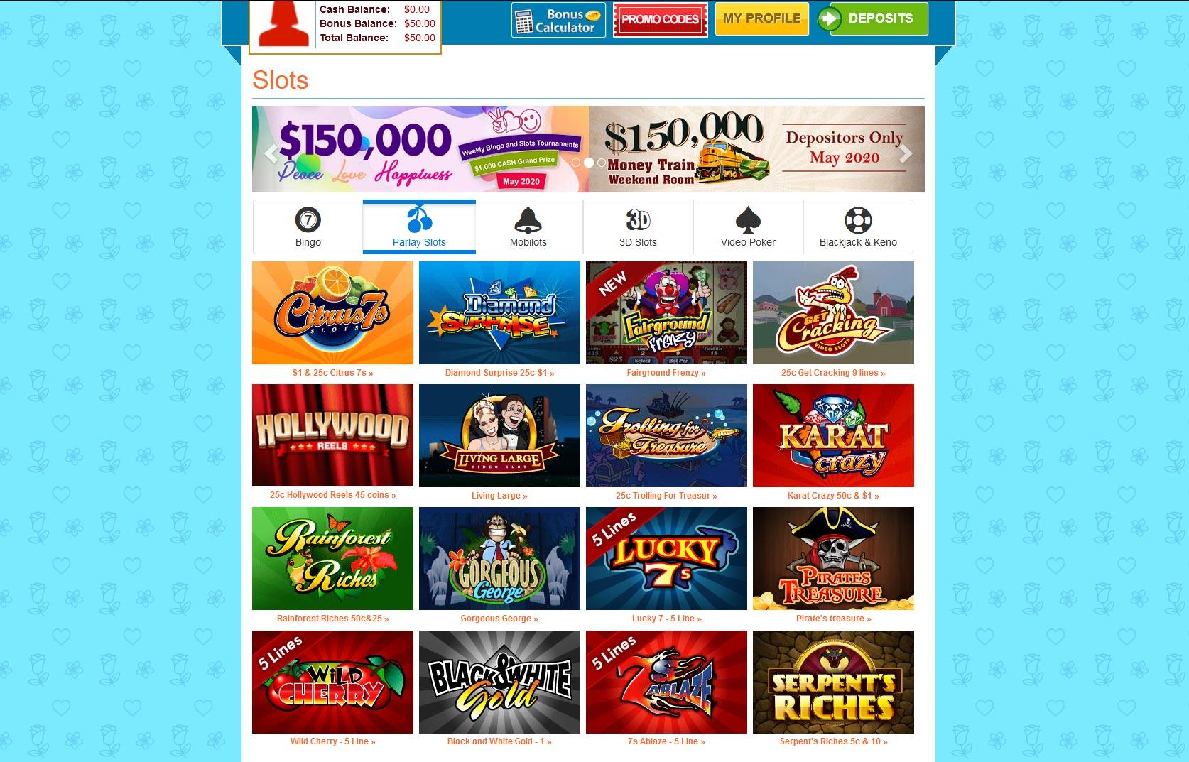 amigo bingo slots online