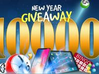 10,000 New Year Giveaway - celebrate the New Year and win in this tourney!