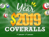Bingo for Money New Year $2019 Coveralls