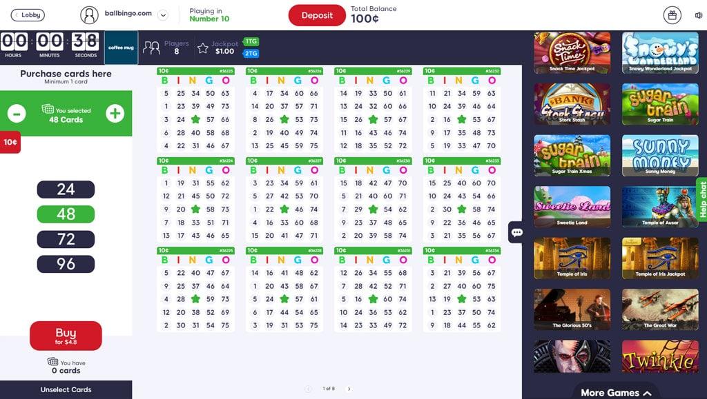 bingo besties 75 ball