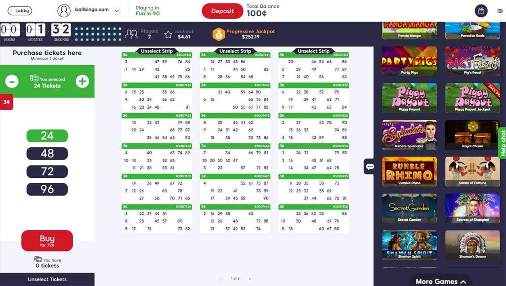 bingo besties 90 ball