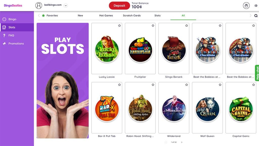 bingo besties slots