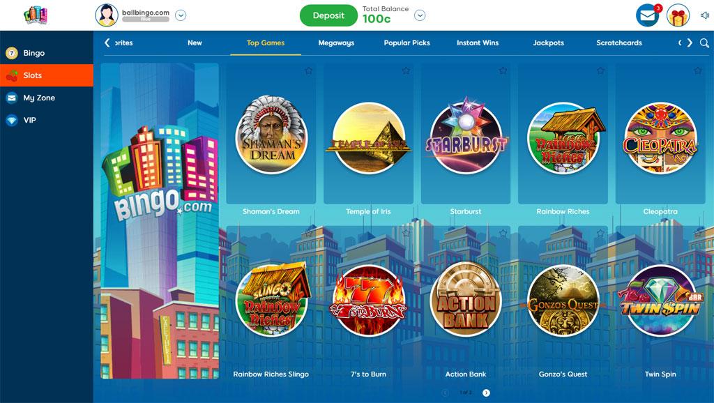 city bingo slots