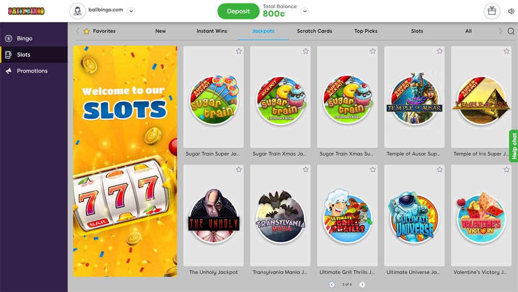 daisy bingo slots