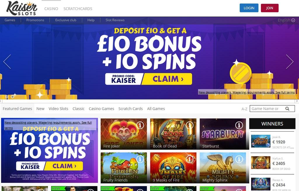 Kaiser Slots online