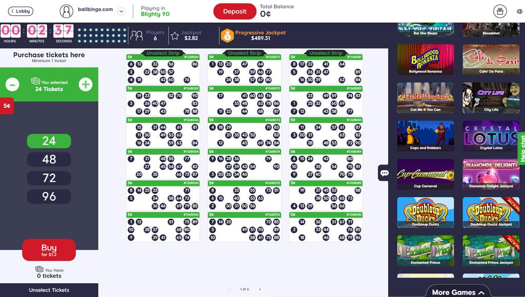 kozmo bingo 90