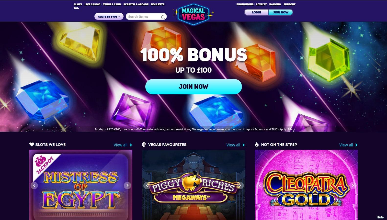 Magical Vegas online