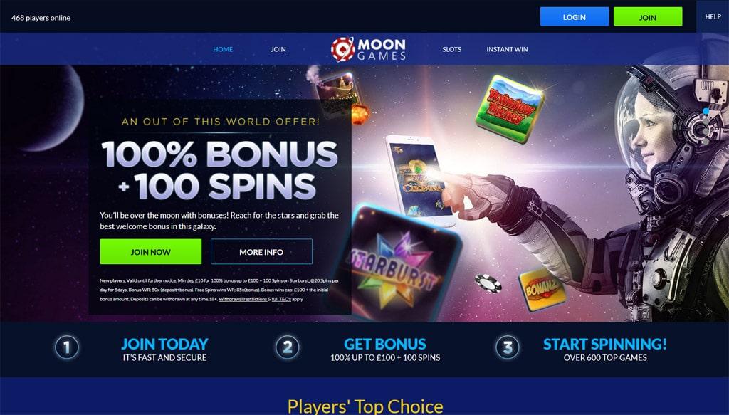 Moon Games online
