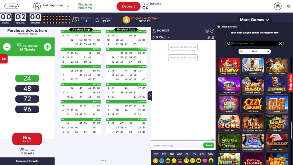 queenbee bingo 90