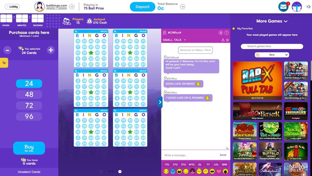 wish bingo 75