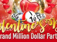 Celebrate the season of love in the Valentine's Day Grand Million bingo party
