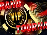 The Grand VIP Tournament, with promotions running three times a week and a $10.000,00 prize!