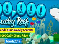 $100,000 Lucky Reef Bingo and Casino Contest