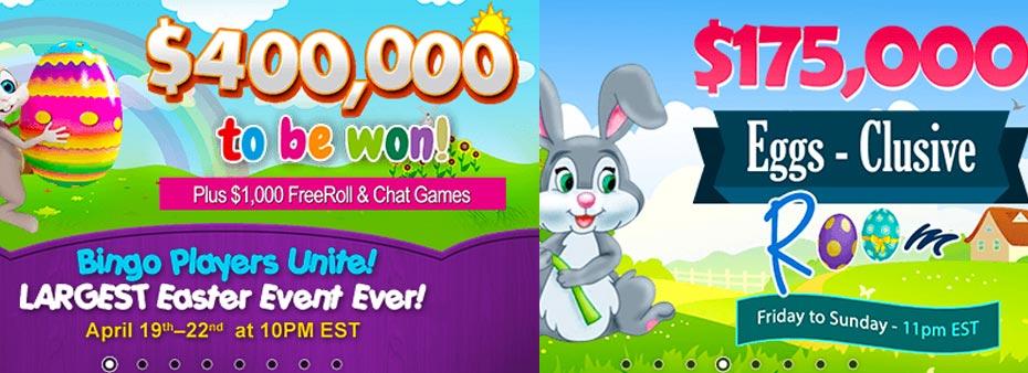 $400,000 Easter Eggs-travaganza Weekend at Amigo Bingo