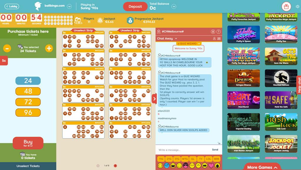 woolly bingo 90