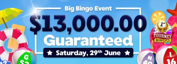 Are you ready to win $10,000 in cash? Join in the Big Bingo fun and excitement at BingoFest