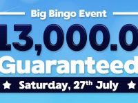 Big Bingo Event $13,000.00 Guaranteed Big Bingo Bonanza with huge cash prizes