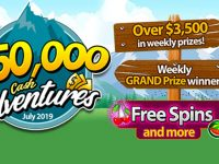 $150,000 Bingo Cash Adventures July 2019