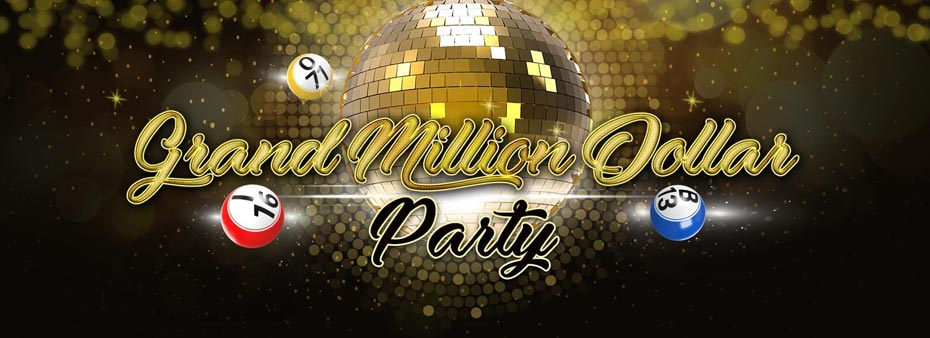 Every Wednesday! Grand Million Bingo Party Total prize pool $2.000.000