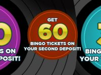 Get your 1st deposit offer! Deposit £10, get 120 bingo tickets at Sing Bingo