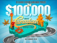 The $100,000 Great Canadian Bingo Road Trip!