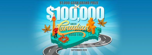 The $100,000 Great Canadian Bingo Road Trip!