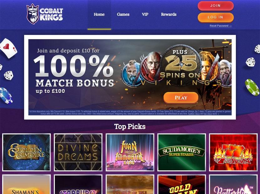 Cobalt Kings online