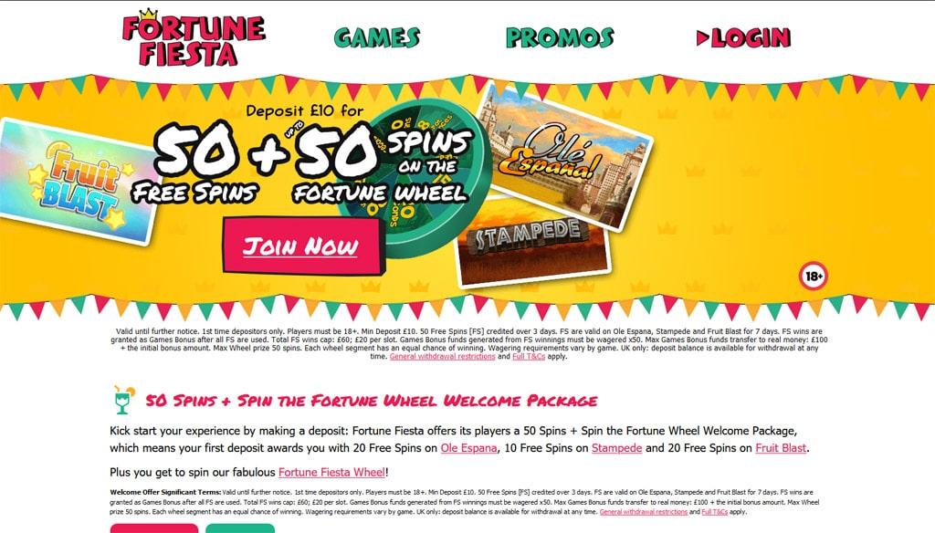 Fortune Fiesta online