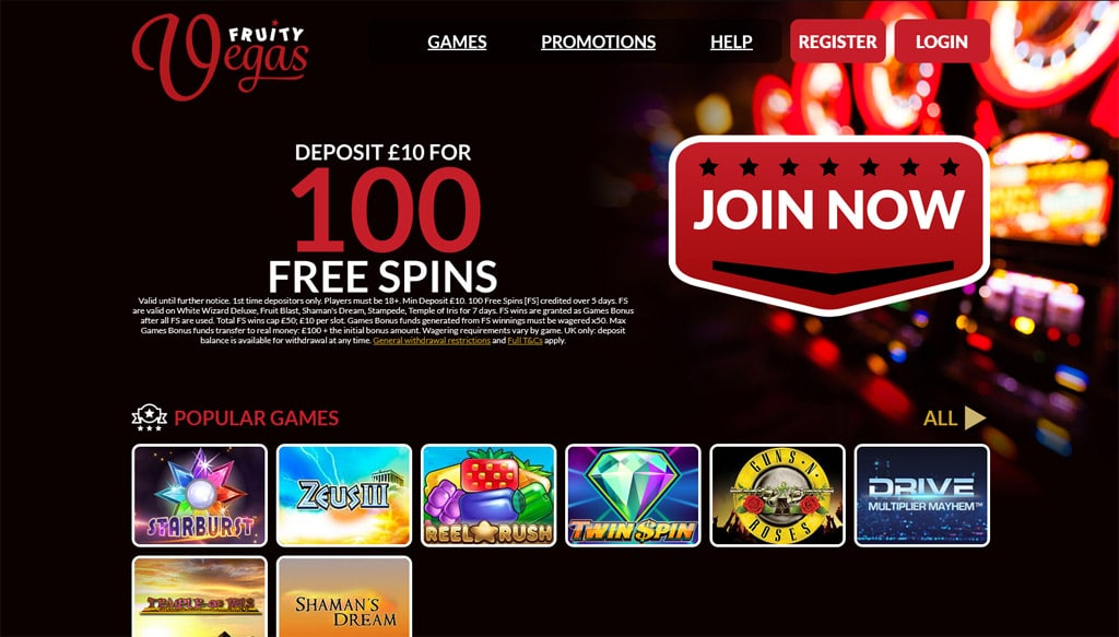 Fruity Vegas online