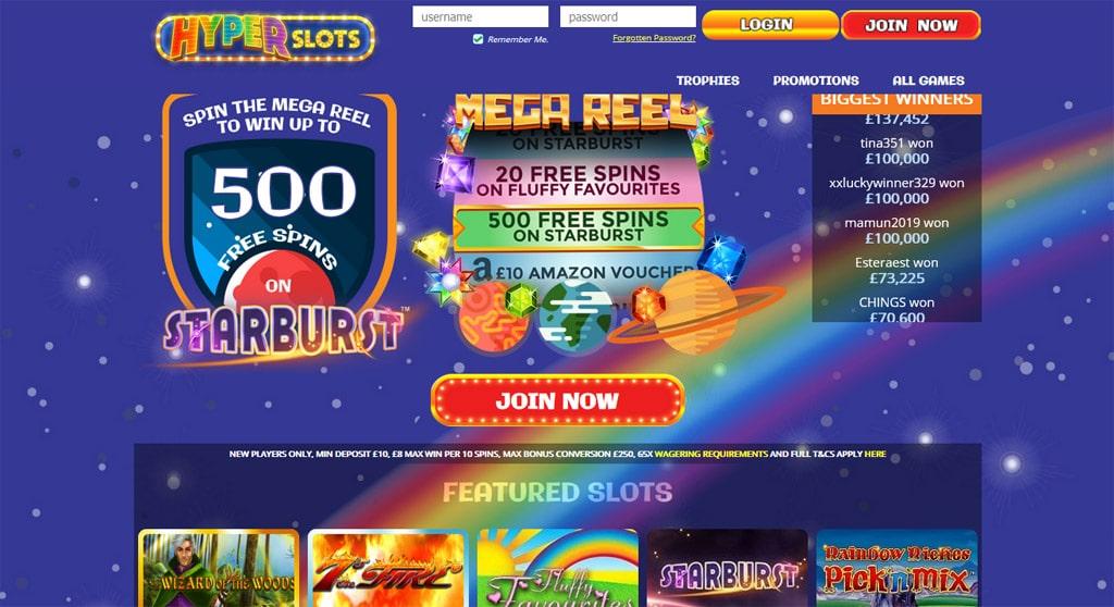 Hyper Slots online