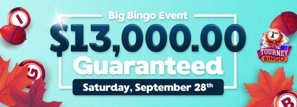 It's time to win huge cash prizes on Saturday, September 28