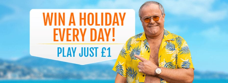 Be a Costa Bingo Winner! Play just £1 for a chance to win a holiday to sunny Spain