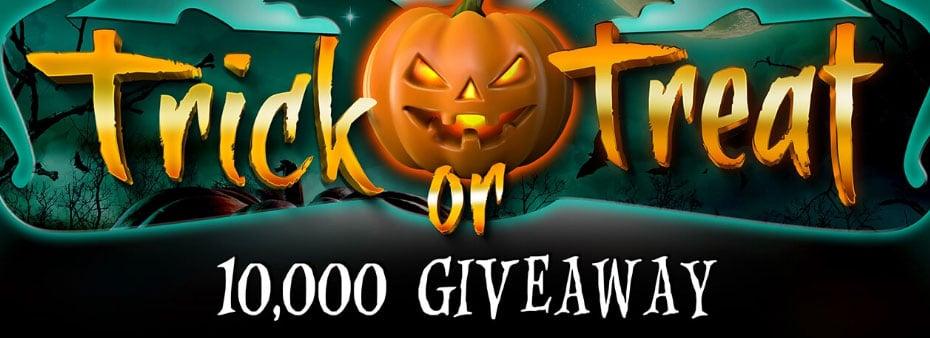 Trick or Treat 10,000 Giveaway at Vic's Bingo