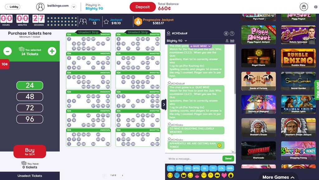 bingo idol 90 ball