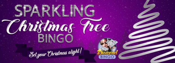 Sparkling Christmas Tree – Set your Christmas alight with Bingo Fest exciting games!