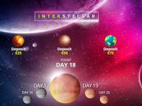 Interstellar Daily Bingo Gifts and Prizes and Bingo Tournament