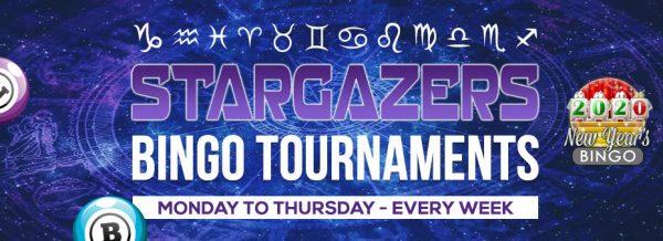 Bingo Spirit Stargazers Bingo Tourney: Fill the Holidays with Festive Bingo Fun