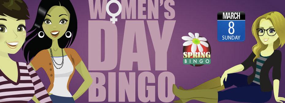 Women's Day Bingo Tourney Event at Bingo Spirit
