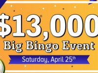 April's $13,000 Big Bingo Event at Bingo Fest