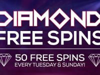 Diamond Free Spins available this April at Bingo Spirit