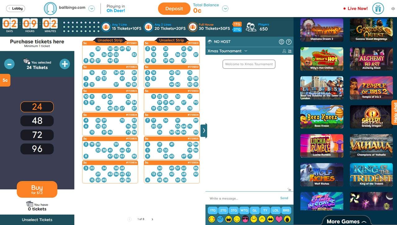 bingo 52 90