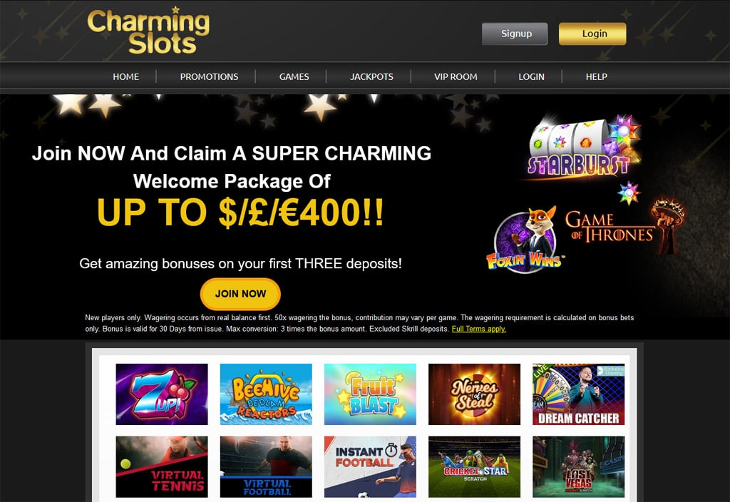 Charming Slots online