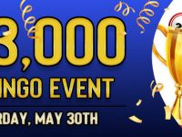 Win $10,000 in Cyber Bingo Big Bingo Event on Saturday, May 30