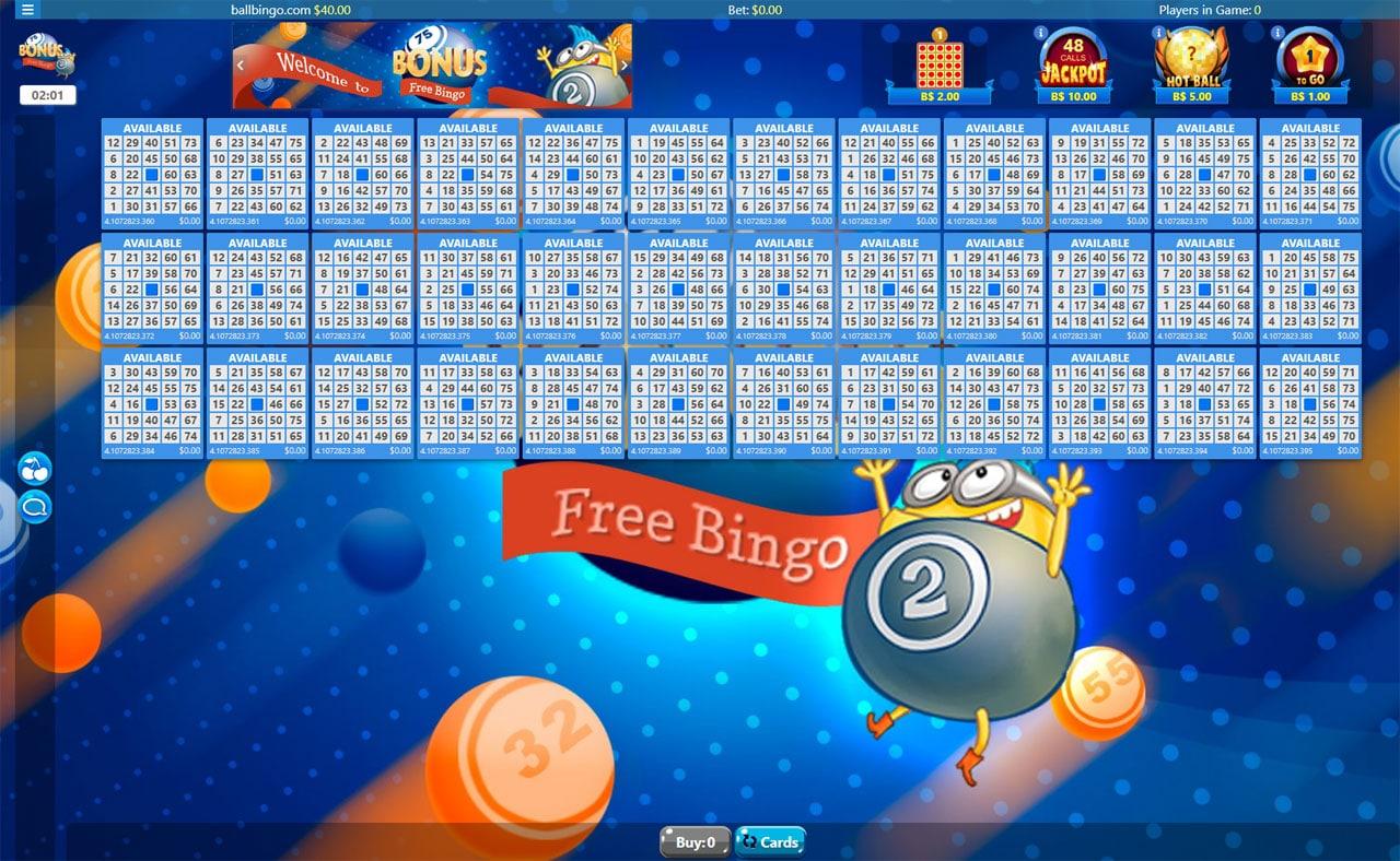 bonus bingo free