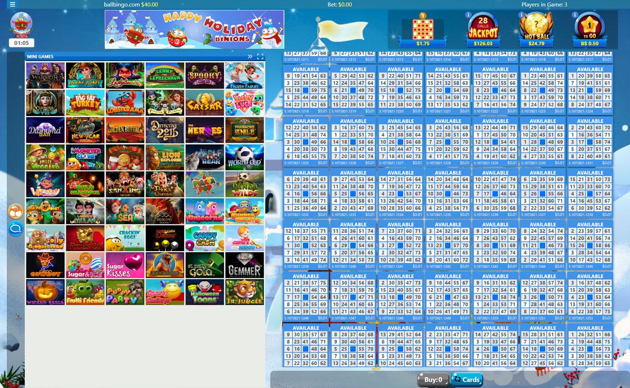 bonus bingo 75